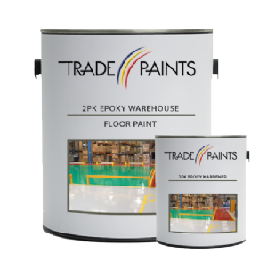 2 Pack Epoxy Warehouse Floor Paint | Epoxy Resin Paint | paints4trade.com